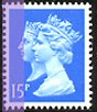 1990 GB - SG1468 15p LB (H) DH Anniv from FB56 Bklt MNH
