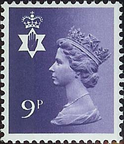 1978 GB - SGNI26Ey (XN35a) 9p Deep Violet Missing Phosphor MNH