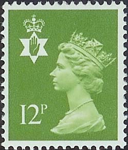 1980 GB - SGNI31 (XN41) 12p Yellowish-Green PCP MNH