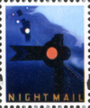 2004 GB - L46 Cinderella label from Letters By Night PB DX32 MNH