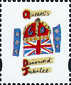 2012 GB - L78 - Flag, Crown and Crest from DY4 MNH