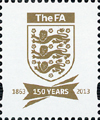 2013 GB - L81 - The FA Badge (Crest) from DY7 MNH