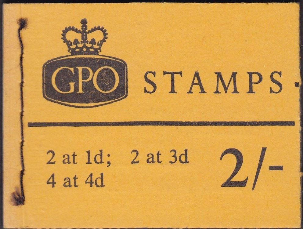 1968 GB - NP28-L - 2/- Orange Cover Booklet - July 1968