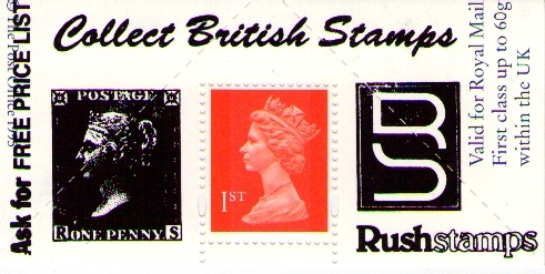 "1995 GB - Boots Label - London ""Collect Stamps"" (1d Black) MNH"