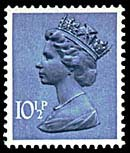 10½p deep dull blue