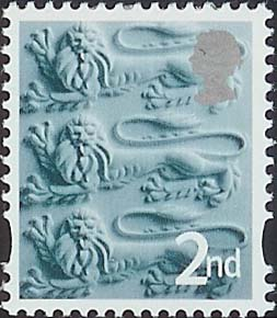 2007 GB - SGEN6b - 2nd Slate Green & Silver CB from MS2740 MNH