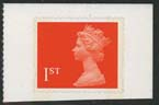 1993 GB - SG1789 1st Flame (W) SAdh Single from MG1 Booklet MNH