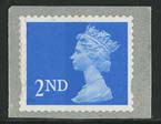1997 GB - SG1976 (UJE1) 2nd SAdh Single from Enschedé Coil MNH