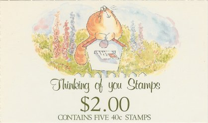 1991 NZ - SB055 $2.00 Thinking of You
