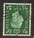 1937 GB - SG462Wi ½d Dark Green Inverted Watermark Used