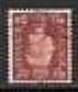 1937 GB - SG464Wi 1½d Red-Brown Inverted Watermark Used