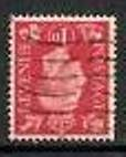 1937 GB - SG463Wi 1d Scarlet Inverted Watermark Used