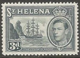 1938 - StH - SG134 3d from George VI Ships Definitive Set MM