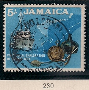 1964 JAM - SG230 - 5/- Definitive Used