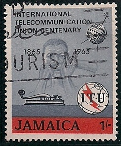 1965 JAM - SG247 - ITU Centenary Set (1) Used