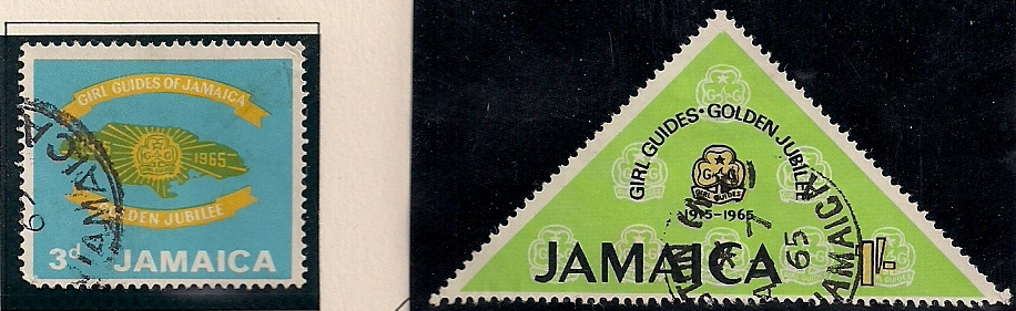 1965 JAM - SG240-1 - Girl Guides Association Set (2) Used