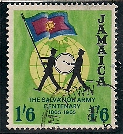 1965 JAM - SG243 - 1/6d Salvation Army Used