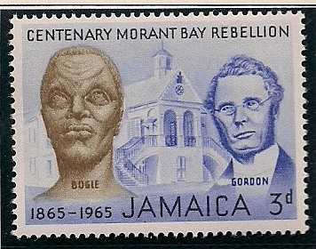 1965 JAM - SG244 - 3d Morant Bay Rebellion MM