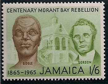 1965 JAM - SG245 - 1/6d Morant Bay Rebellion MM