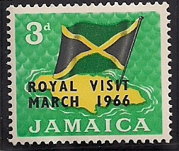 1966 JAM - SG248 - 3d Royal Visit MM