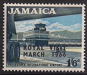 1966 JAM - SG251 - 1/6d Royal Visit MM
