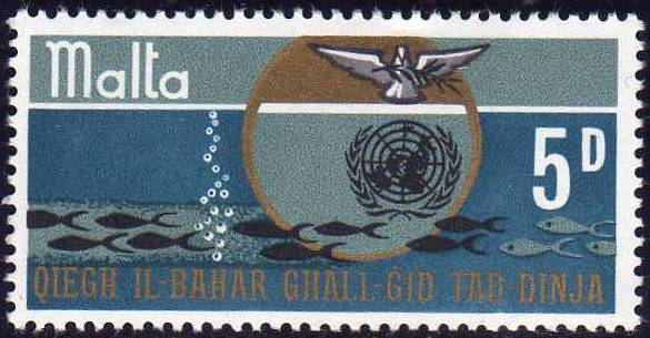 1969 MLT - SG419 QEII Oceanic Resources Set (1) MM