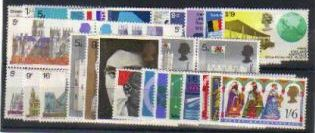 1969 GB - Year Set. * All Comms from this year * (33) MNH