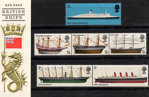 1969 GB - PP 005 - Ships Pres Pack