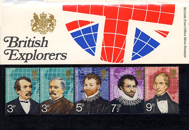 1973 GB - PP 050 - British Explorers Pres Pack