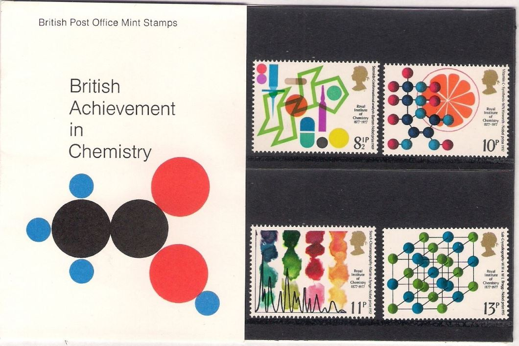1977 GB - PP 092 - Achievements in Chemistry Pres Pk