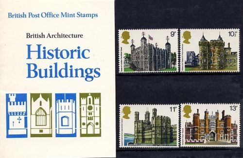 1978 GB - PP 100 - Historic Buildings Pres Pk