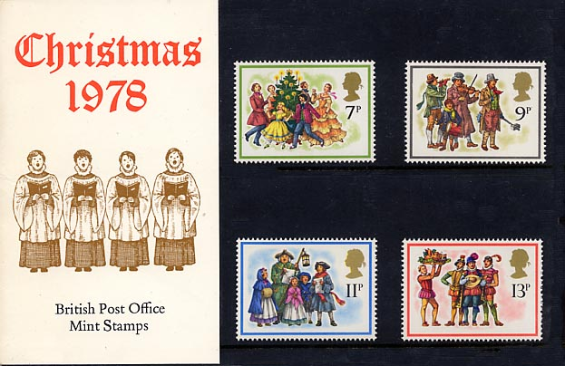 1978 GB - PP 104 - Christmas Pres Pack