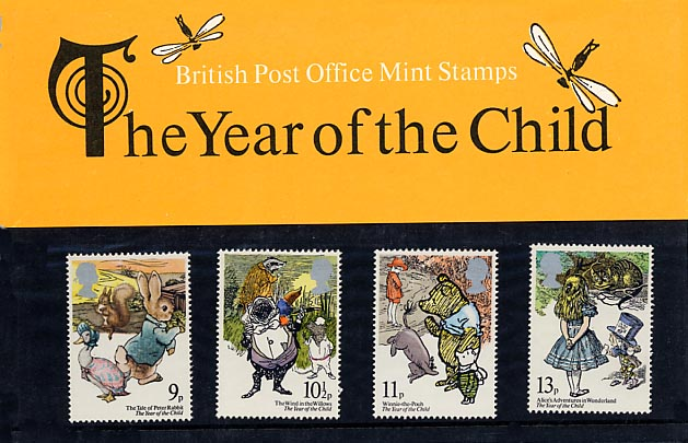 1979 GB - PP 110 - Year of the Child Pres Pack