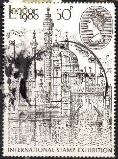 "1980 GB - ""London 1980"" International Stamp GU"