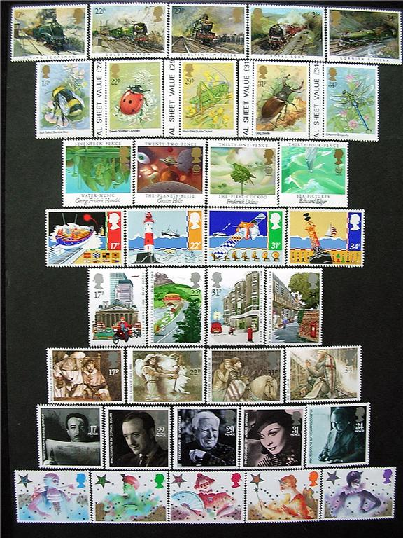 1985 GB - * Year Set. All Comms from this year * (38) MNH