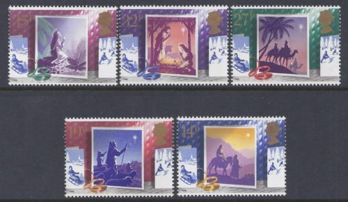 1988 GB - SG1414-18 - Christmas Set (5) MNH