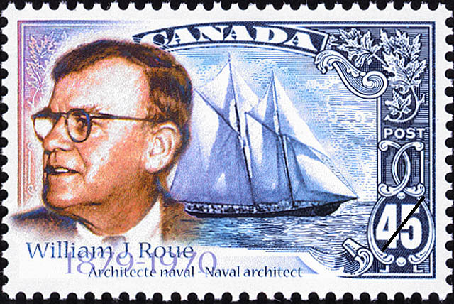 1998 CDN - SG1809 45¢ William James Roue, Naval Architect MNH