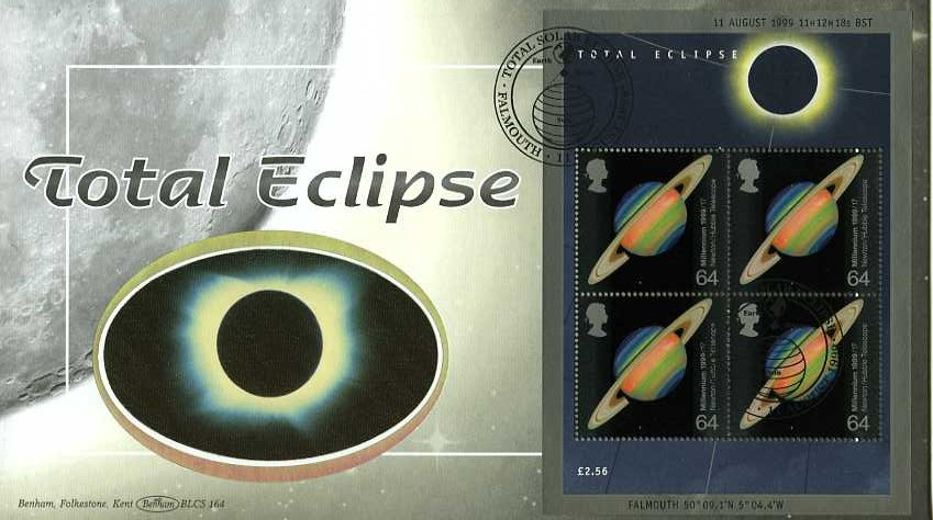 1999 GB - BLCS164 - Total Eclipse - Min Sheet (Benham)
