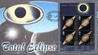 1999 GB - BLCS164B - Total Eclipse - Min Sheet (Benham)