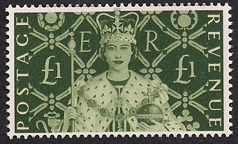 2000 GB - £1 from Stamp Show Minisheet (MS2147) MNH