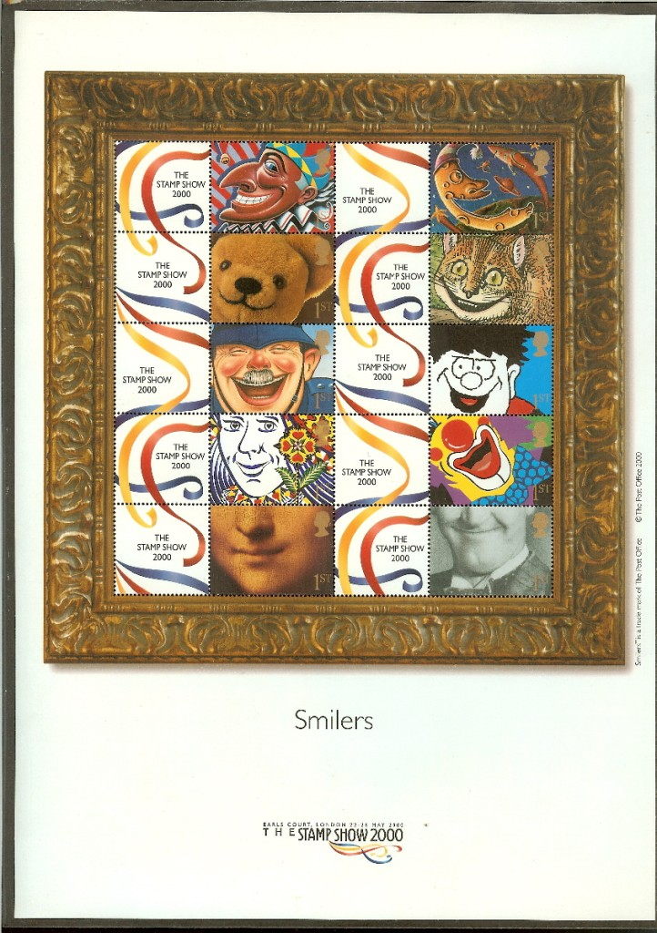 "2000 GB - LS1 - ""Stamp Show 2000"" Greetings Smiler (10) MNH"