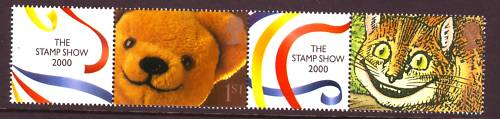 2000 GB - LS1 - 1st Pair+Labels from First Smiler Sheet MNH (1)