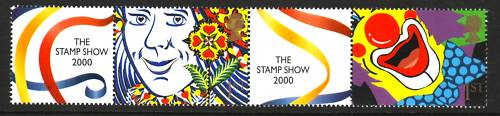2000 GB - LS1 - 1st Pair+Labels from First Smiler Sheet MNH (3)