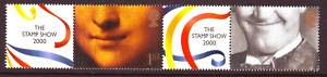 2000 GB - LS1 - 1st Pair+Labels from First Smiler Sheet MNH (4)