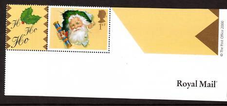 2000 GB - LS3 - Father Xmas - Single+Label Smiler Short Bottom