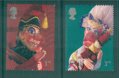 2001 GB - SG2230-31 Punch & Judy 1st Class SA Set from PM3 GU - Click Image to Close