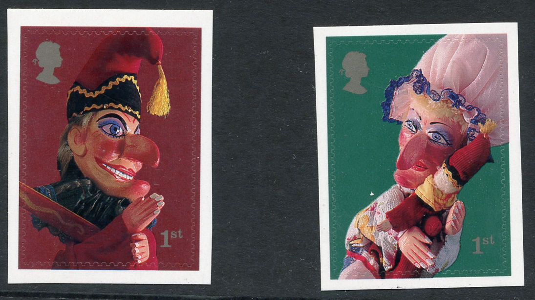 2001 GB - SG2230-31 Punch & Judy 1st Class SA Set from PM3 MNH