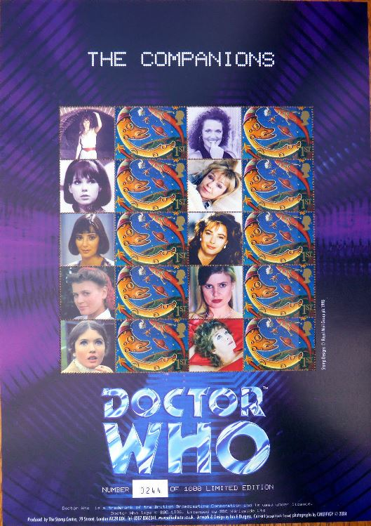 2004 GB - BC-025 - Benham Dr Who Companions Smiler (Ltd Ed) MNH