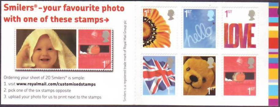 2006 GB - QA2 Smilers Booklet 2nd Issue MNH