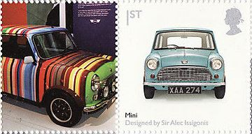 "2009 GB - LS56 - ""Design Classics: Mini Car"" Single MNH"